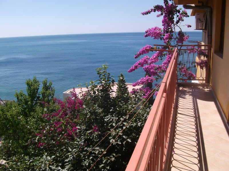 This is the balcony which is in front of the two bed room. Also with sea view.